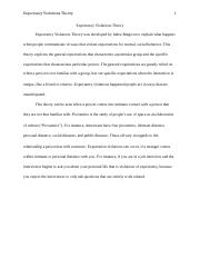 Essay With Thesis  Pages Expectancy Violations Theorydocx Healthy Mind In A Healthy Body Essay also Topics Of Essays For High School Students Comm   Introduction To Communication Theory  U Of A  Sample Narrative Essay High School