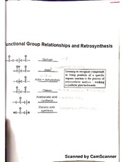 notes on retrosynthesis 123312 advanced organic chemistry: retrosynthesis tutorial question 1  propose a retrosynthetic analysis of the following two compounds your answer.