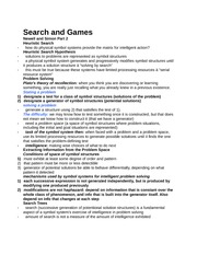Final Review Note-Search and Games