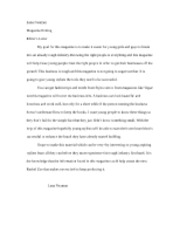 Editor's Letter