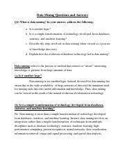 Data Mining Questions and Answers.pdf