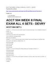 265429038-Acct-504-Week-8-Final-Exam-All-4-Sets-Devry.docx