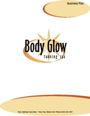 tanning salon start up information