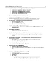 SOC 211 - Exam #2 - Chapter 06, 07 Study Guide