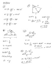 Homework 6 Solution Summer 2014 on Pre-Calculus