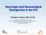 Neurosurgical Emergencies - FINAL