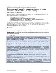lead effective workplace relationships pdf