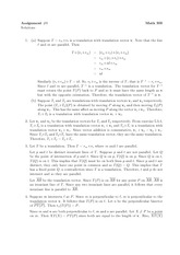 Math 300 Assignment #9 Solutions