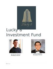Lucky 8 Investment Fund Information.docx