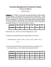 Practice Problems on IM for Seasonal Products_Solution Key.pdf