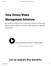 Smart Waste Management - SmartBin in Copenhagen, Denmark - GE2313