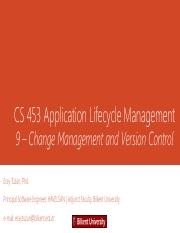 9_Change_and_Version_Management-Spring2016