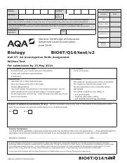 AQA-BIO6T-Q14-TEST-JUN14