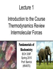 Lecture-1 - Thermodynamics Review _ Intermolecular Forces
