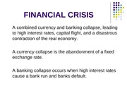 financial crisis presentation