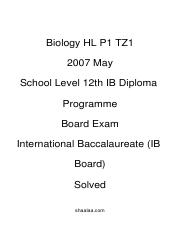 (www.entrance-exam.net)-International Baccalaureate (IB Board)-12th IB Diploma Programme Biology HL