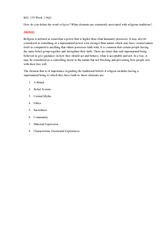 rel 133 week 4 confucianism paper Buddhism worksheet and paper rel 133 week 3 this entry was posted in buddhism worksheet and paper rel  confucianism, and shinto summary rel 133 week 4 lindashelp .