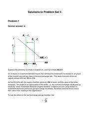 Solutions to Problem Set 5