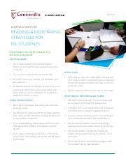 ESL - Reading & Note taking strategies for ESL students.pdf