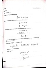 Implicit Differentiation problems with answers