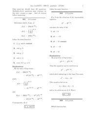 Solutions HW 13