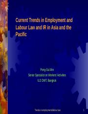 Pongsul_Trends on employment and labour law.ppt