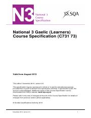 CfE_CourseSpec_N3_Languages_Gaeliclearners