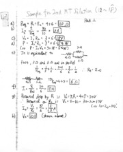 Sample Midterm 2 Solutions 12-18