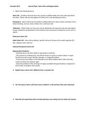 Study Guide-Special Topics Stem Cells(1) (1).docx