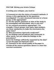 PHC7198  Writing your Article Critique.docx