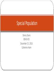 special population (1)