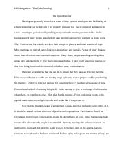 LP6 Assignment _The Quiet Meeting Case Study.docx