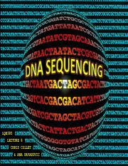 lecture 8- DNA sequencing