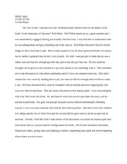 Cath Fran Lecture Paper