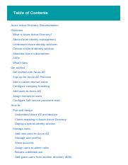 yash azure 1122 pdf - Table of Contents Azure Active