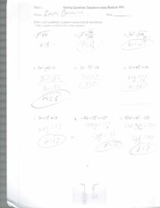 solving equations using radicals
