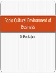 3 Socio Cultural Environment of Business.pptx