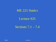 Lecture 25 sect 7.1