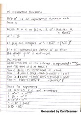 1.5 exponential functions notes