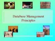 Database Management Principles (presentation)