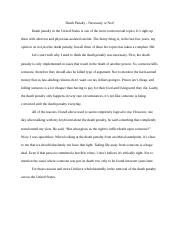 Acct_280_Death_Penalty_Short_Essay