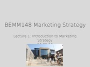 marketing strategy lecture material 1