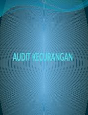 AUDIT KECURANGAN