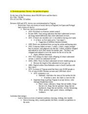 HIST 200 Midterm #2 Incomplete Study Guide (Spring Semester 2007)