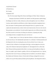 mesopotamian and shang essay apwh.docx