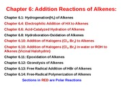 Chapter 6 Non-Polar Reactions