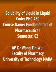 solubility of liquid in liquid