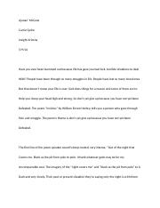 LAC1 COMP 16.9 Literary Essay About Theme Final Draft_AJANAE' MCCANE