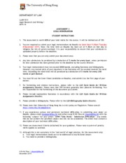 LRW1 15-16 Exam Instructions and Criteria Final
