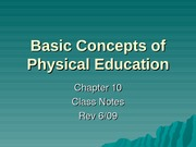 PE-Basic concepts&problems&Issues-NOTESrev09